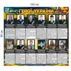 "Стенд ""Герої України"""