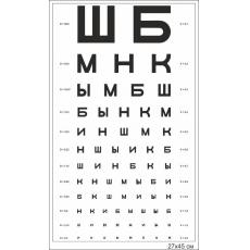 """Стенд """"Таблиця Сивцева"""""""