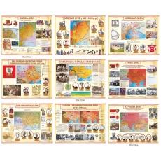 Комплект стендів ілюстрованих з історії України
