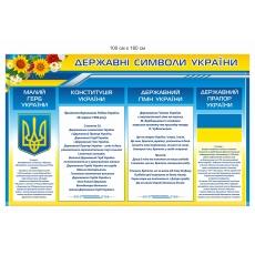 """Стенд """"Державні символи України"""""""