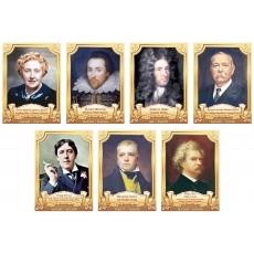 Портрети англійських письменників та поетів