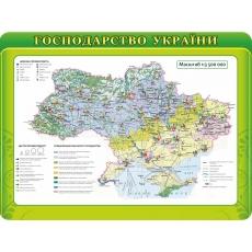 """Стенд """"Господарства України"""""""