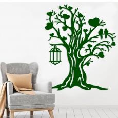 """Декоративне оформлення """"Дерево з ліхтарем"""""""